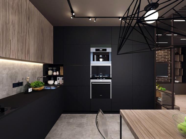 cocina-negra-moderna-detalles-madera