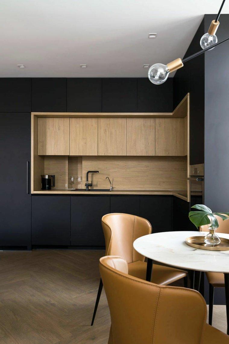 cocina-opciones-diseno-negro-madera