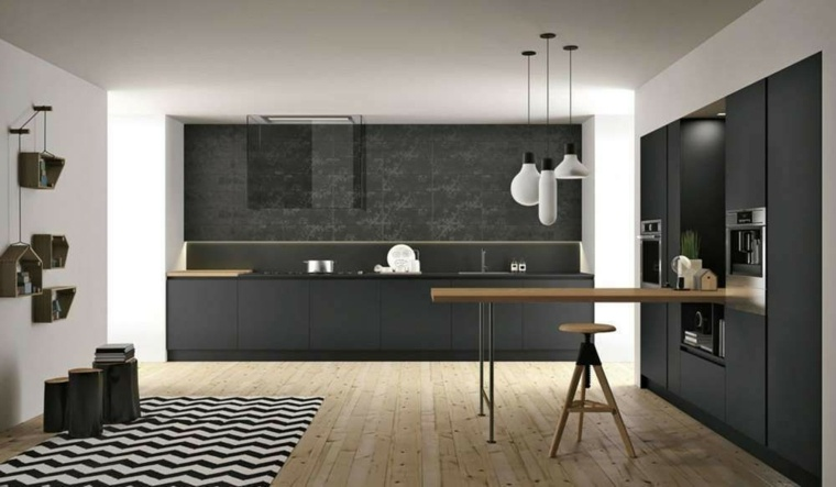 cocinas-negras-casa-diseno-Alessandro-Iovino