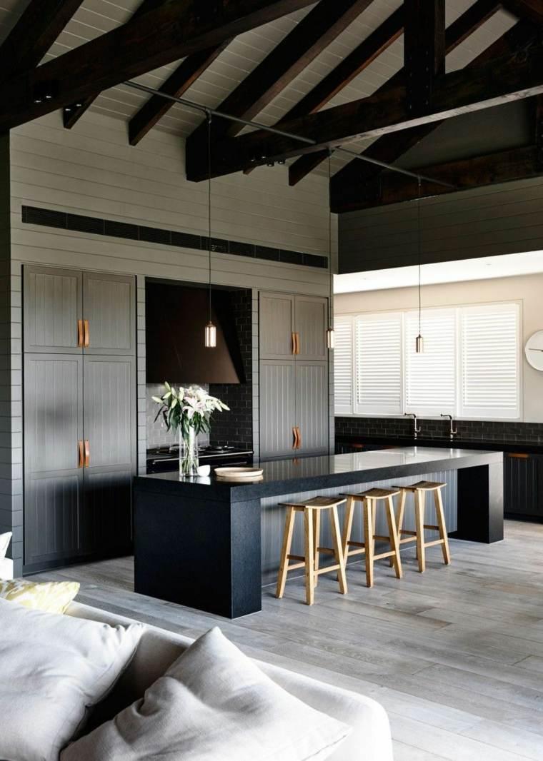 cocinas-negras-casa-diseno-Canny-Architecture