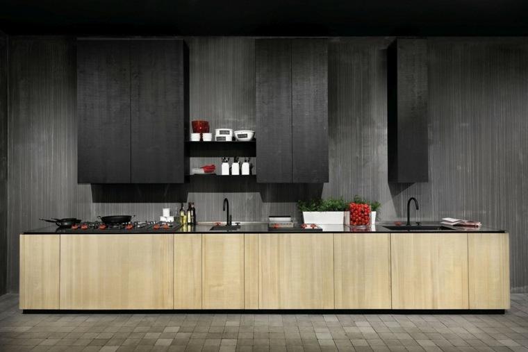 cocinas-negras-casa-diseno-elementos-materiales