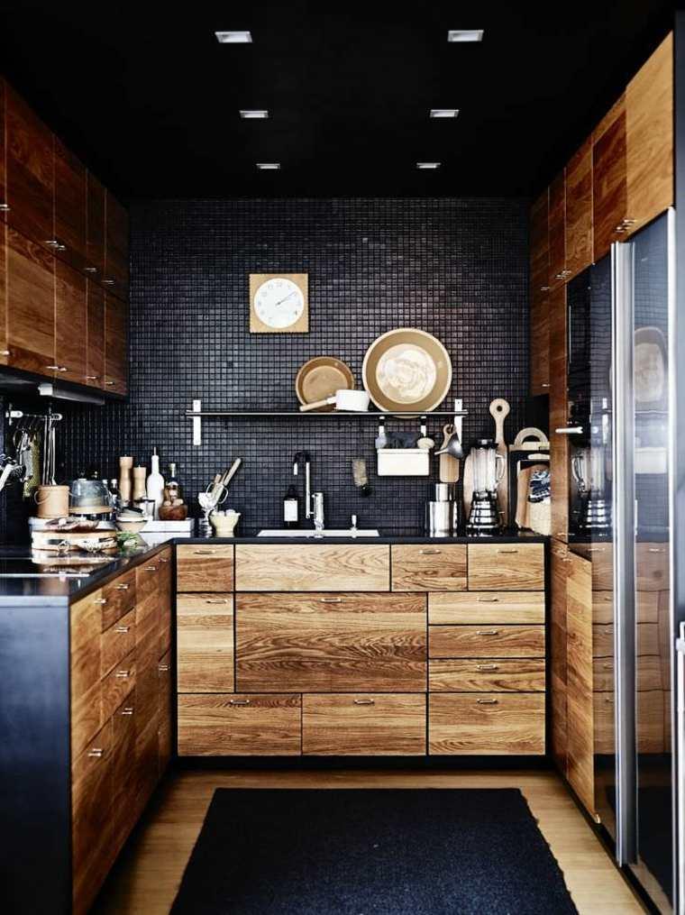 cocinas-negras-casa-diseno-estilo-clasico
