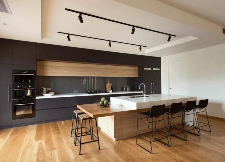 cocinas-negras-casa-diseno-moderno-madera