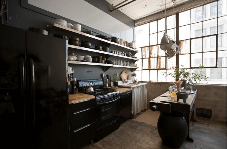 cocinas-negras-casa-diseno-opciones