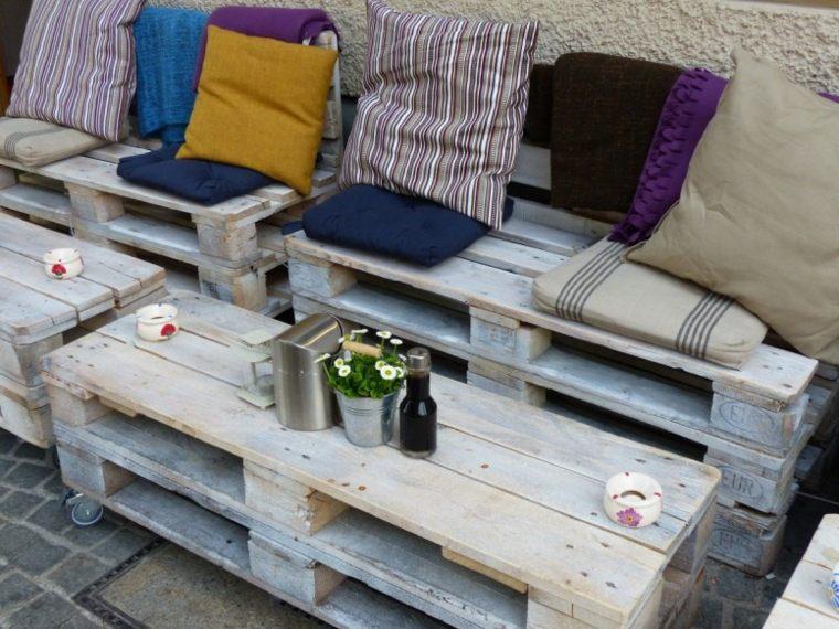 muebles de palets reciclados