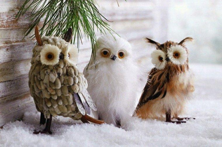 cosas de navidad-decoracion-nieve