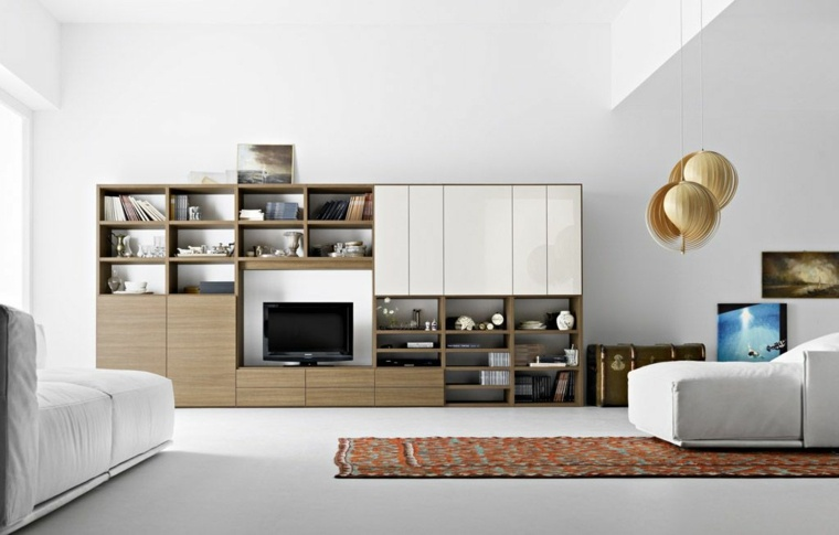 decoracion de salas minimalistas-salon