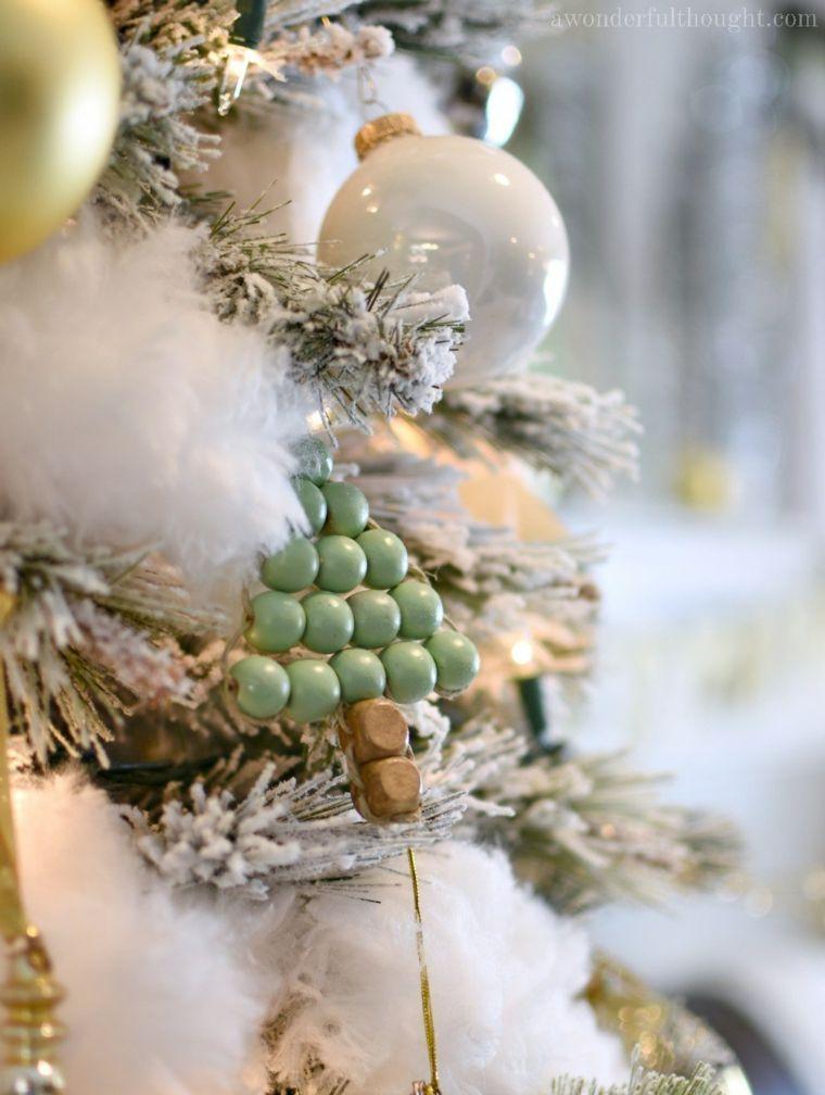 decoracion para navidad-arbol-nieve