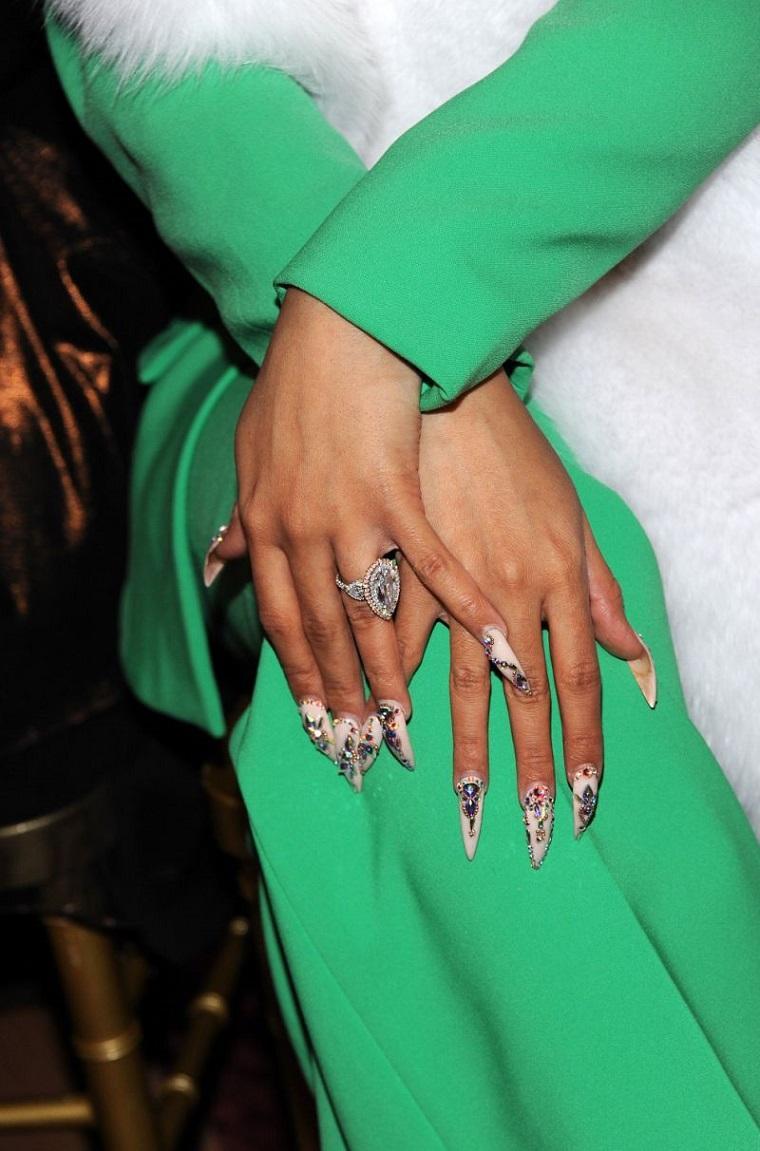 diseños de uñas 2018 moda-estilo-ano-2018