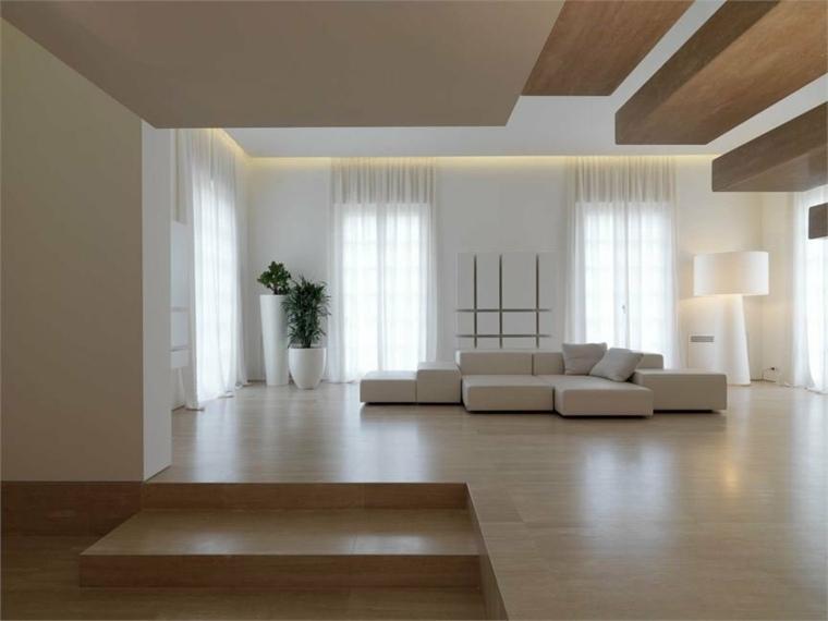disenos de salas modernas-minimalistas