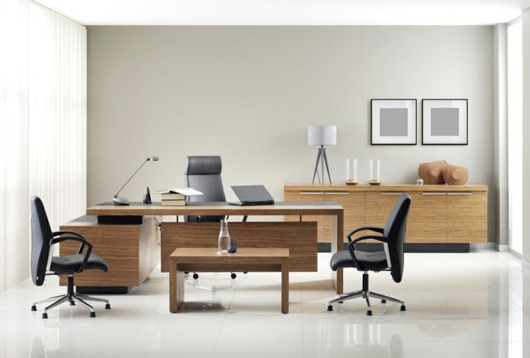 disenos de salas modernas-oficina