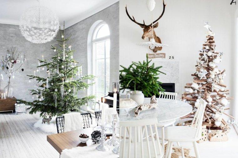 el arbol de navidad-escandinavo-interior