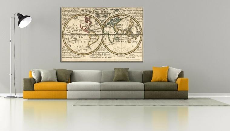 estilo minimalista-decoracion-paredes