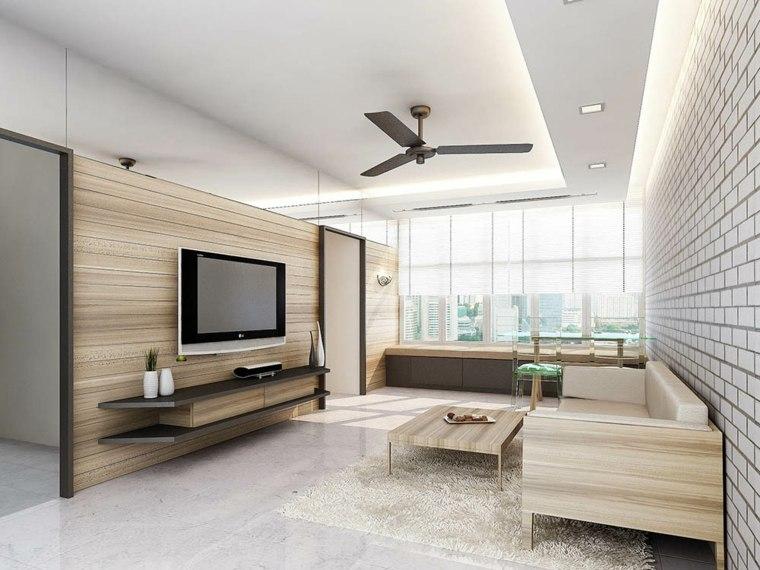 estilo minimalista-decoracion-salon