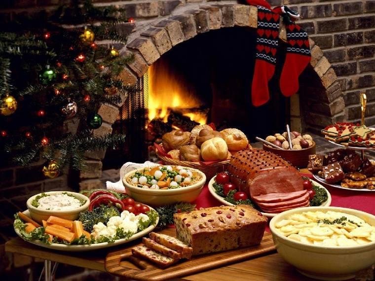 fiesta de navidad-cena-comida-ideas