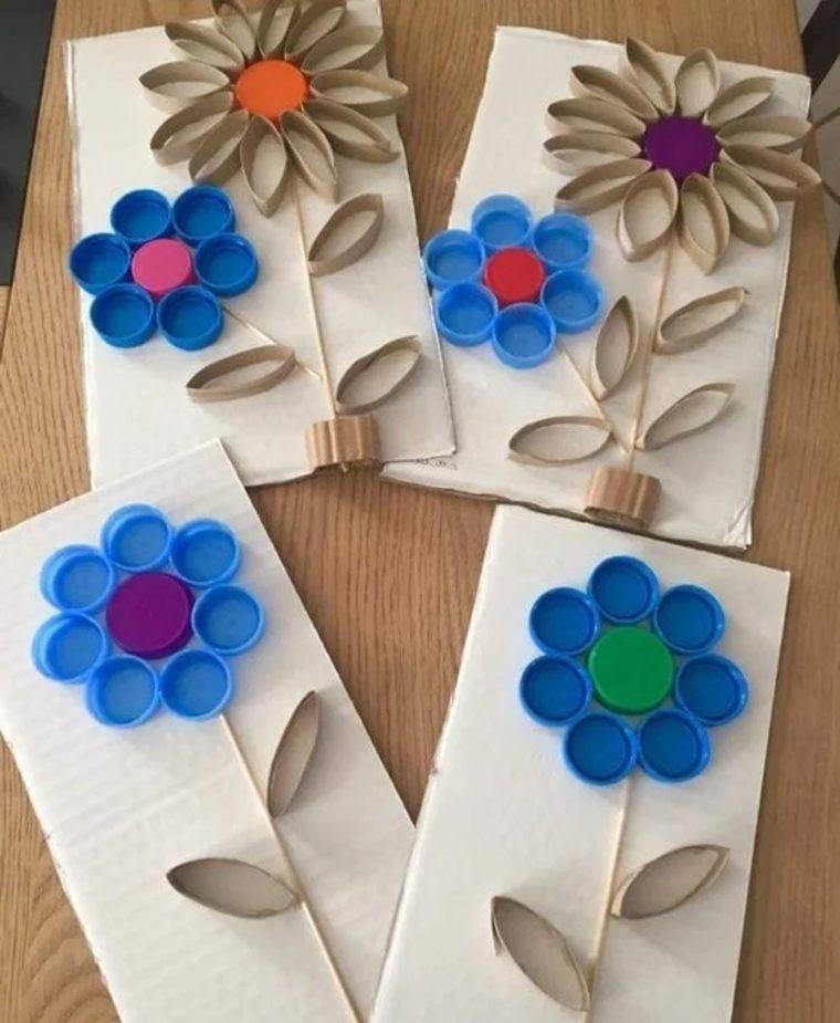 flores-hechas-con-tapas