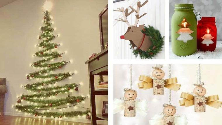 Diy ideas para la decoración de Navidad