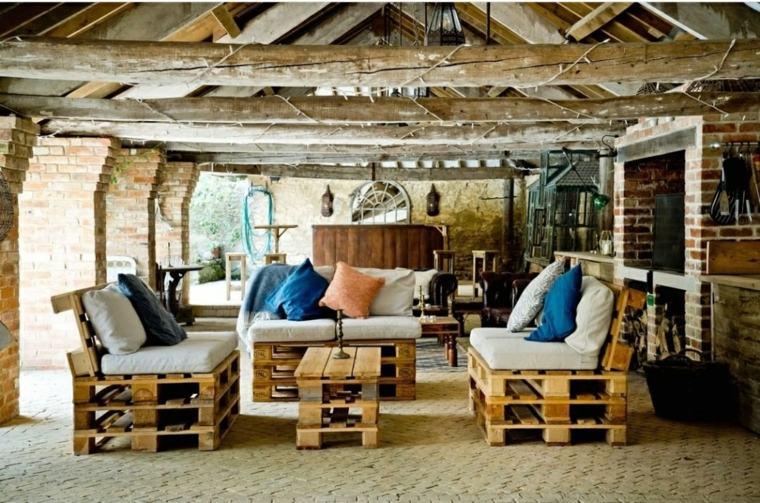 mobiliario de pallets