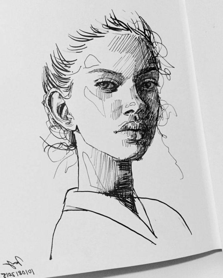 imágenes en blanco y negro cara