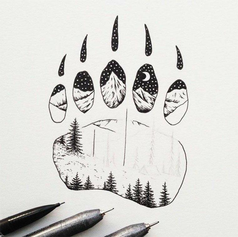 imágenes en blanco y negro dibujo