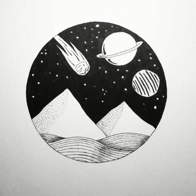 imágenes en blanco y negro espacio