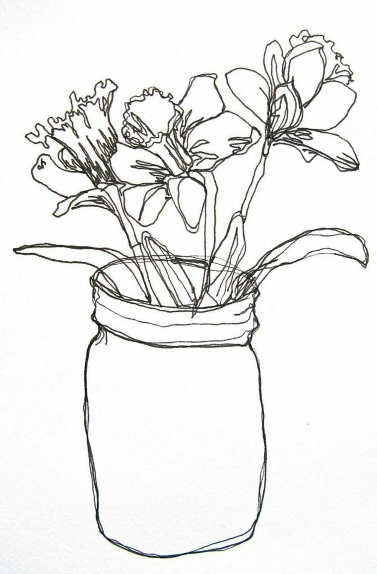 imágenes en blanco y negro flores