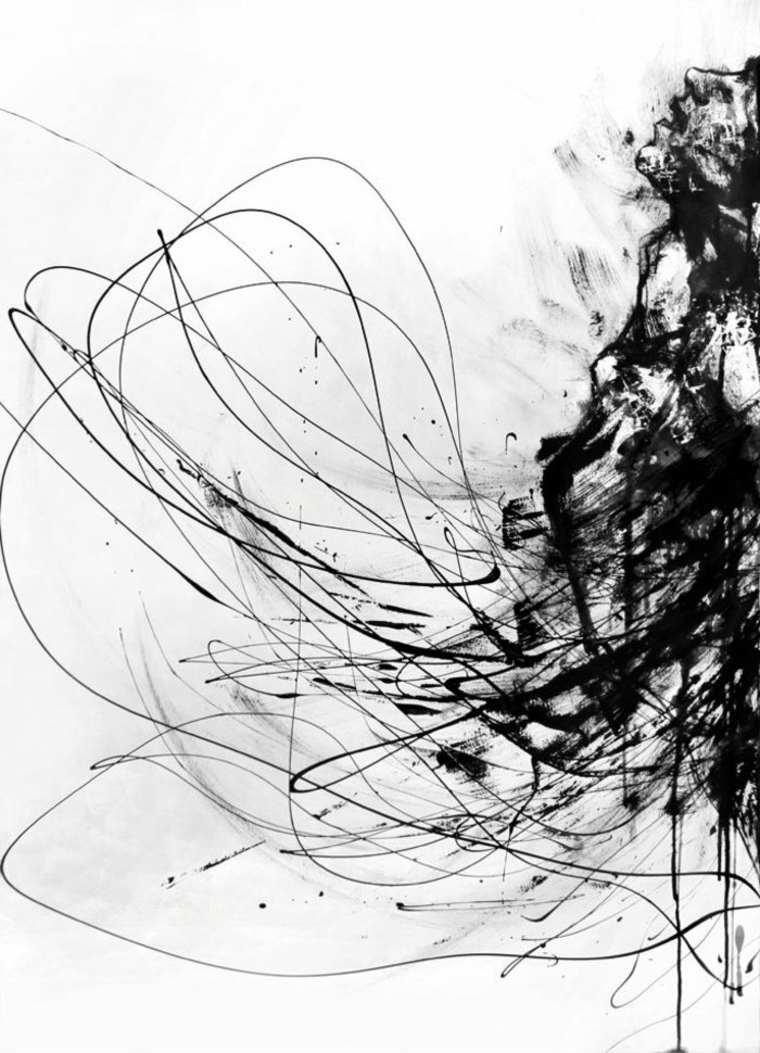 imágenes en blanco y negro líneas