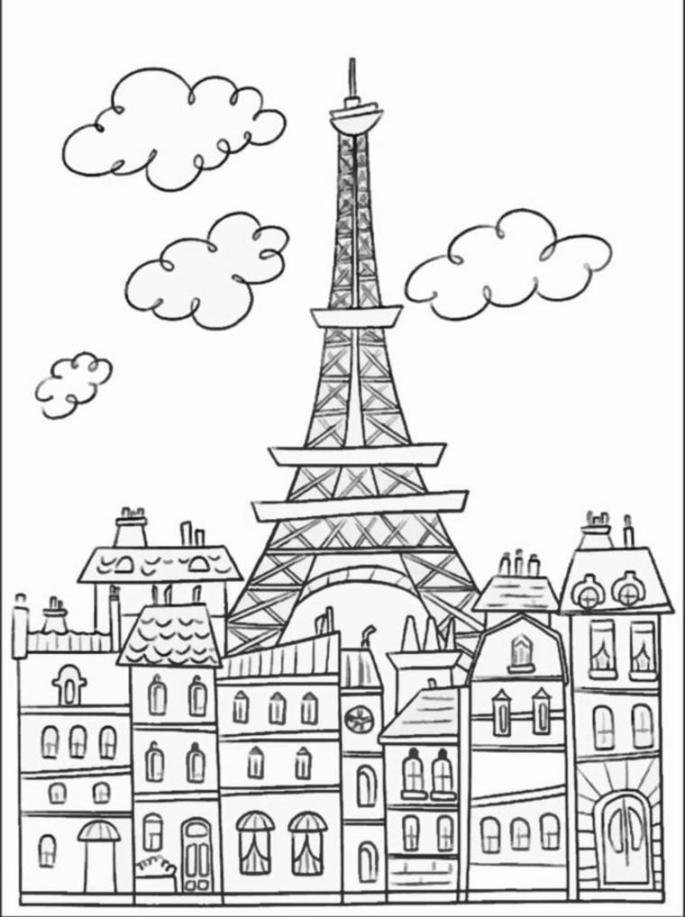 imágenes en blanco y negro torre
