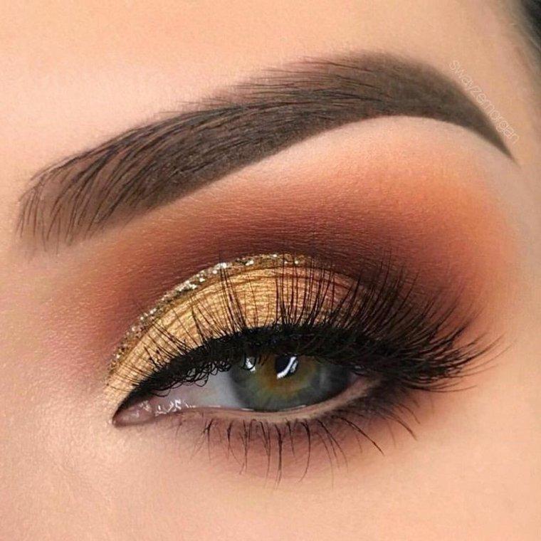 imagenes de maquillaje de ojos-dia