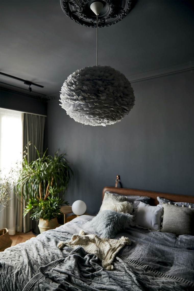 interior dormitorio-gris