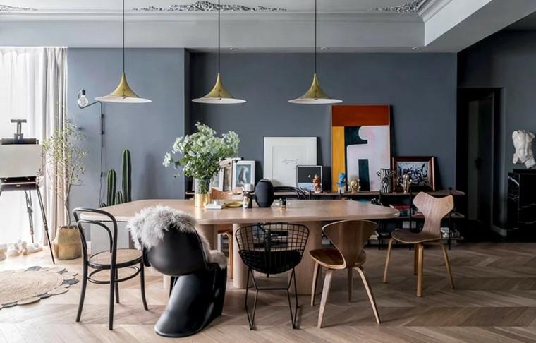 interior moderno-comedor