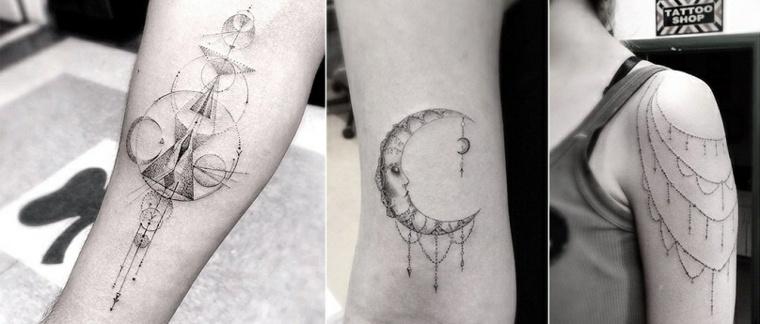 los mejores tatuajes geométricos