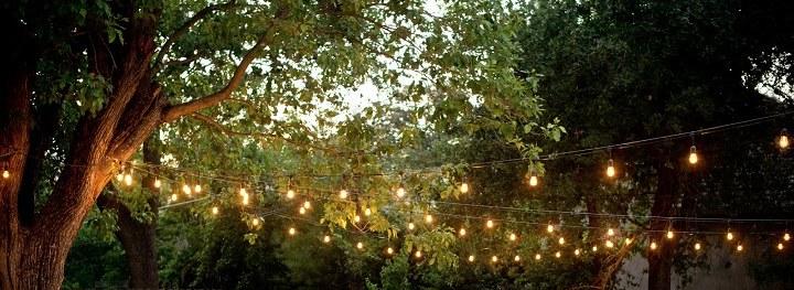 luces de navidad cables extensiones