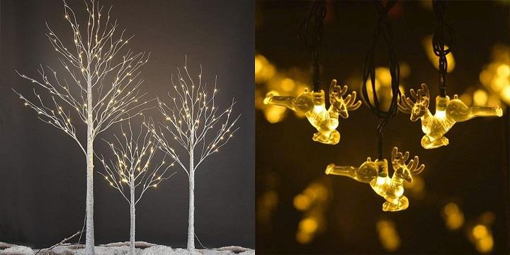 luces de navidad pequenas decorado