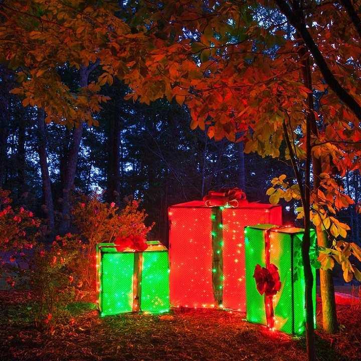 luces de navidad regalos led