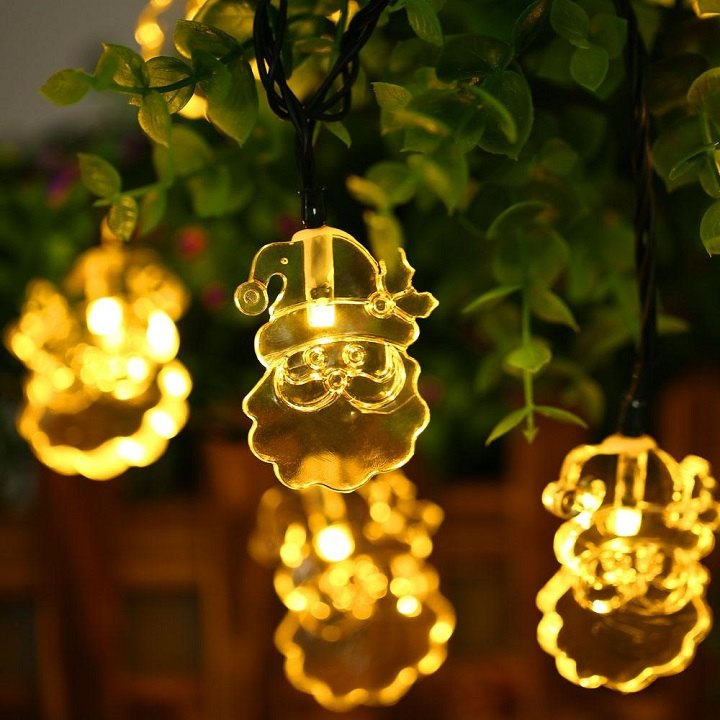 luces de navidad tematicas jardines