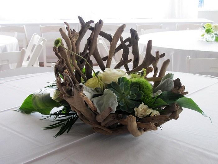 madera a la deriva centros mesa