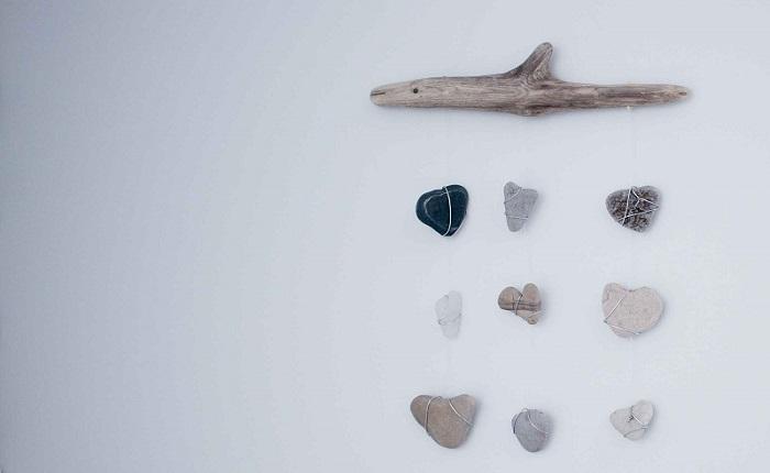 madera a la deriva ideas piedras
