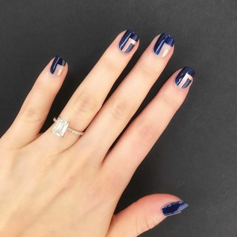 manicura-unas-dioseno-colores-combinaciones-azul