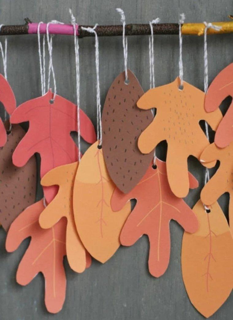 manualidades creativas hojas-otoñales