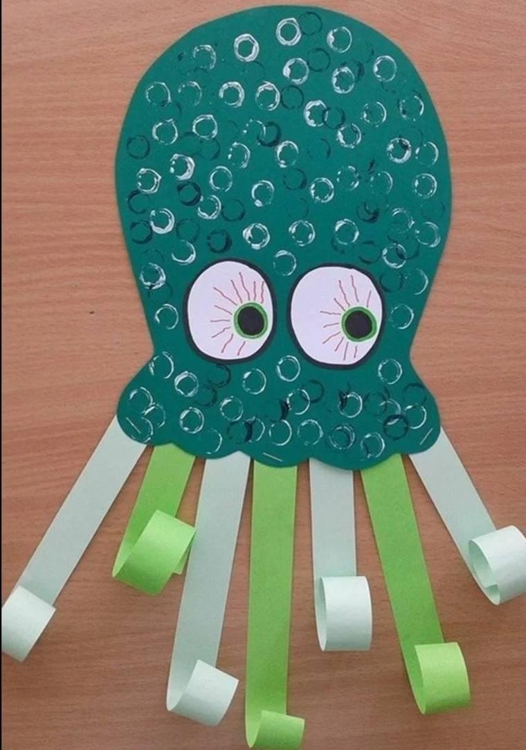 manualidades creativas octópodo