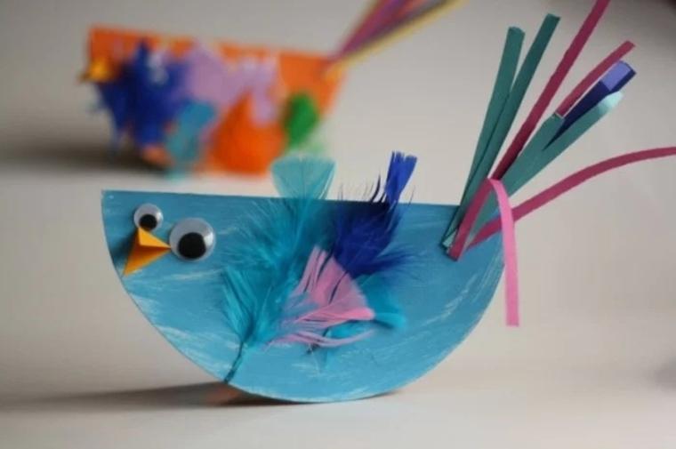 manualidades creativas pájaro
