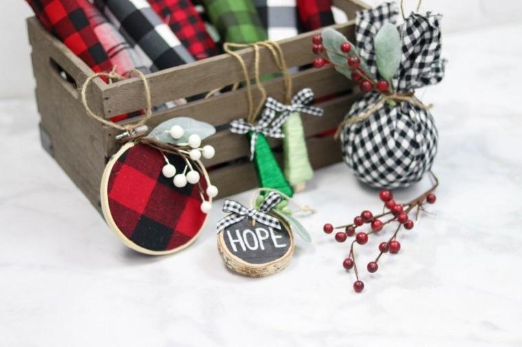 manualidades de navidad fáciles de hacer-adornos-arbol