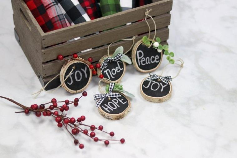 manualidades de navidad fáciles de hacer adornos