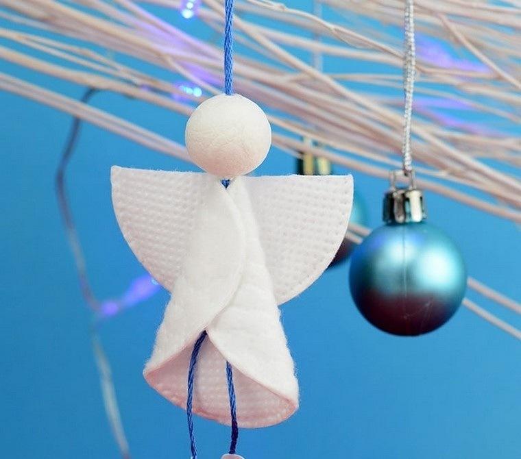 manualidades faciles angeles decorativos
