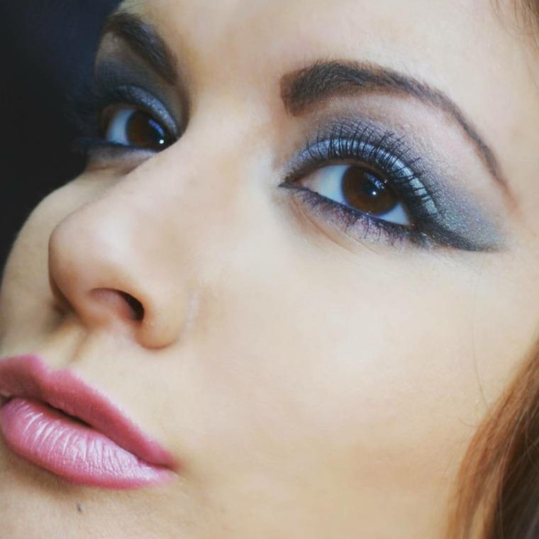 maquillaje de ojos-marrones-azul