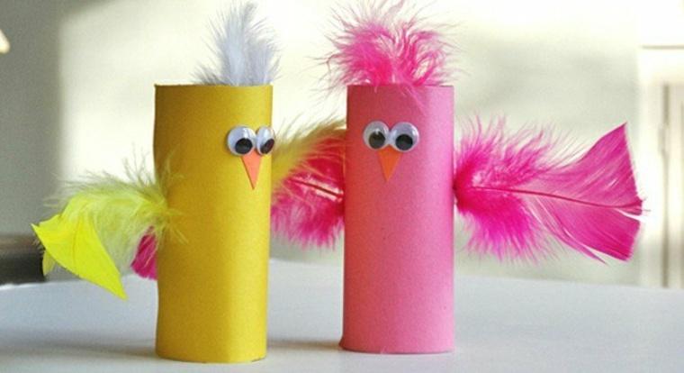 pájaros-de-tubos-de-pepel-higienico