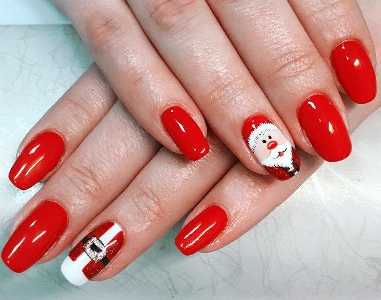papa-noel-estilo-unas-moda-rojo