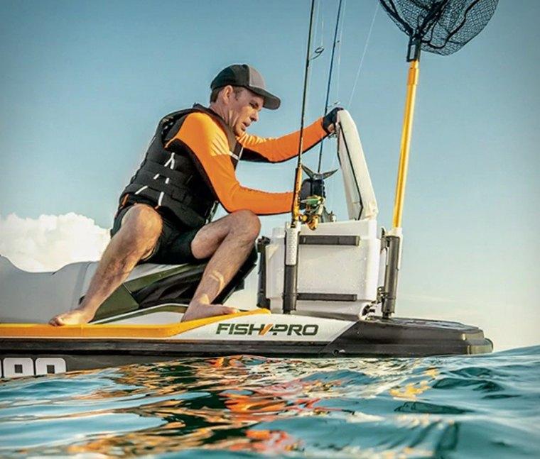 lancha Sea-Doo Fish Pro moto acuatica