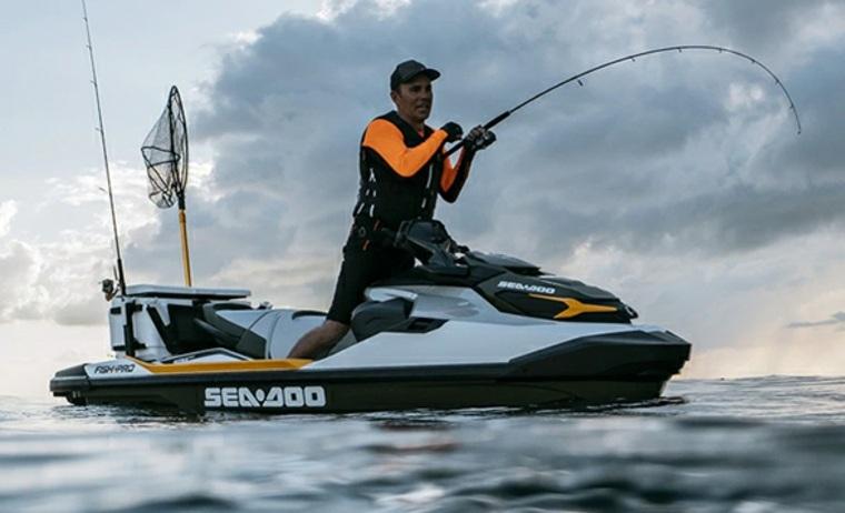 Lancha Sea-Doo Fish Pro – lleve su afición a la pesca a otro nivel